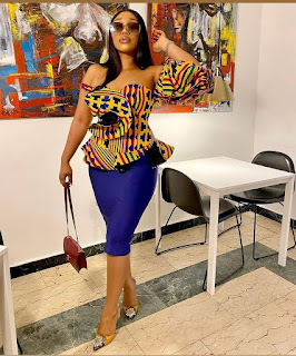 ankara styles pictures skirt and blouse 2021,