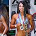 María Guadalupe Gutiérrez de Guanajuato se lleva el 1er lugar en Bikini principiantes mas de 1.60 mts.