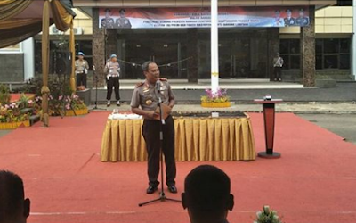 Kapolda: Gedung Baru Mapolresta Bandar Lampung Hadiah Dari Rakyat