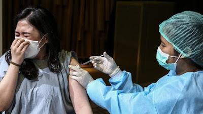 Ini ! Perkembangan Pelaksanaan Vaksinasi kepada Usia 18 Tahun Keatas di Kabupaten Samosir