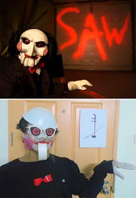 Disfraz de Jigsaw cosplay
