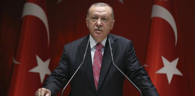 Ερντογάν: Δεν θα επιτρέψουμε πειρατείες και ληστείες σε Αιγαίο, Ανατολική Μεσόγειο
