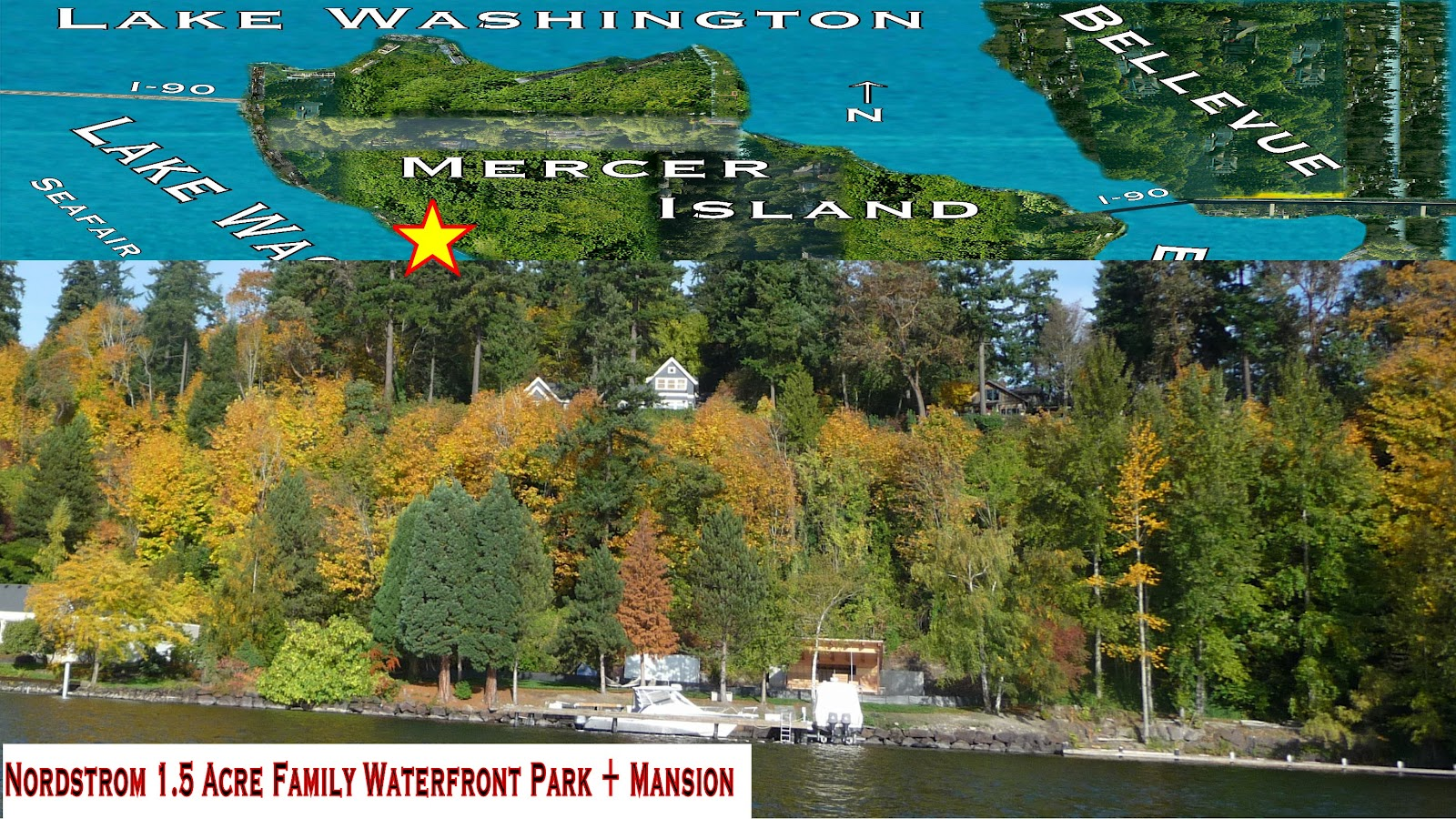 Seattle Mansions: Nordstrom Waterfront Park – Mercer Island