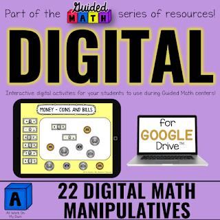 Digital Math Manipulatives for Google