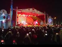 Tampil, Fourtwenty Pukau Para Penonton di Lampung Fair 2019