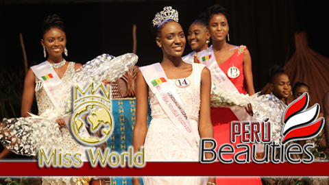 Alberta Diatta es Miss Senegal 2019