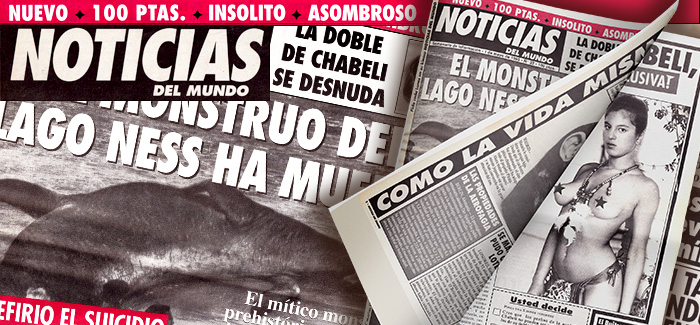 Periódico Noticias del Mundo Nº 32 (1995)