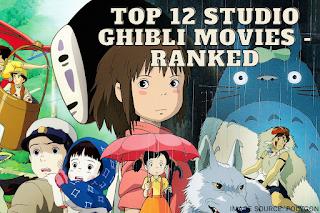 studio ghibli top 12 movies