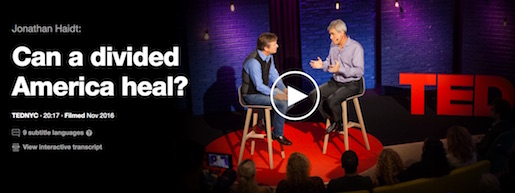 http://www.ted.com/talks/jonathan_haidt_can_a_divided_america_heal?utm_source=newsletter_weekly_2016-11-12&utm_campaign=newsletter_weekly&utm_medium=email&utm_content=talk_of_the_week_image