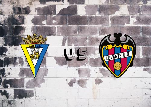 Cádiz vs Levante  Resumen