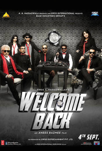Welcome Back 2015 Hindi BluRay Download