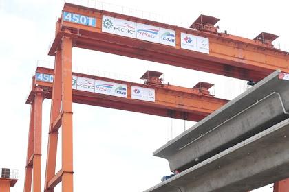 Pembangunan Kereta Cepat Jakarta-Bandung Capai 73 Persen