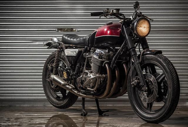 Honda CB750 By Benjie's Cafe Racer Hell Kustom