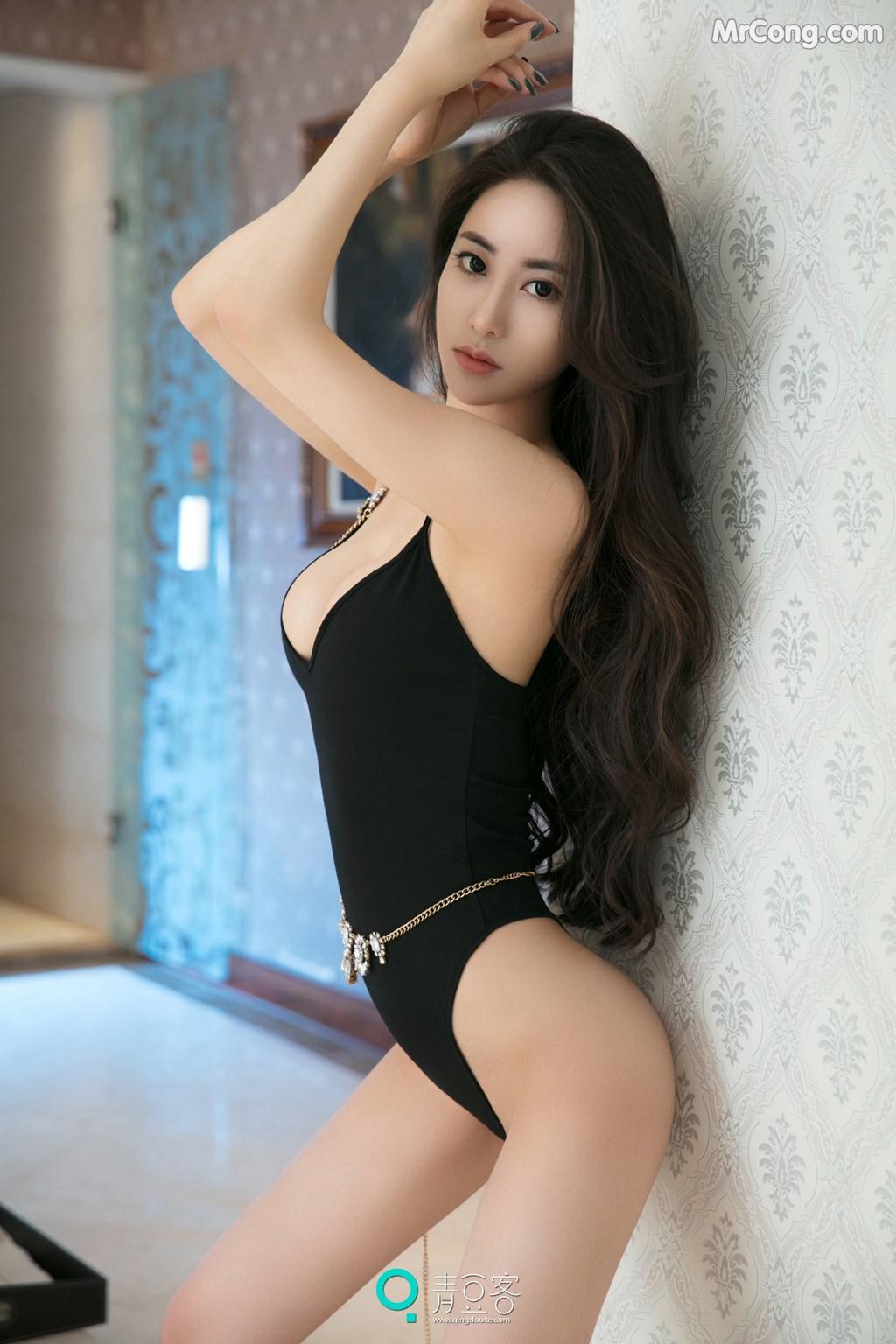 Image QingDouKe-2017-08-03-Mu-Fei-Fei-MrCong.com-016 in post QingDouKe 2017-08-03: Người mẫu Mu Fei Fei (穆菲菲) (53 ảnh)