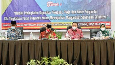Gubernur Sumbar Dorong Posyandu Ikut Berkontribusi Tangani Covid-19