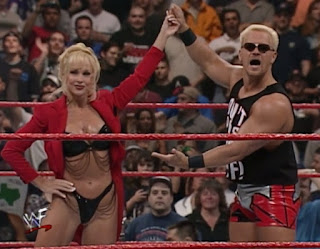 WWE / WWF - Backlash 1999 - Jeff Jarrett with Debra