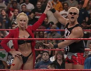 WWE / WWF - Backlash 1999 - Jeff Jarrett with Debra