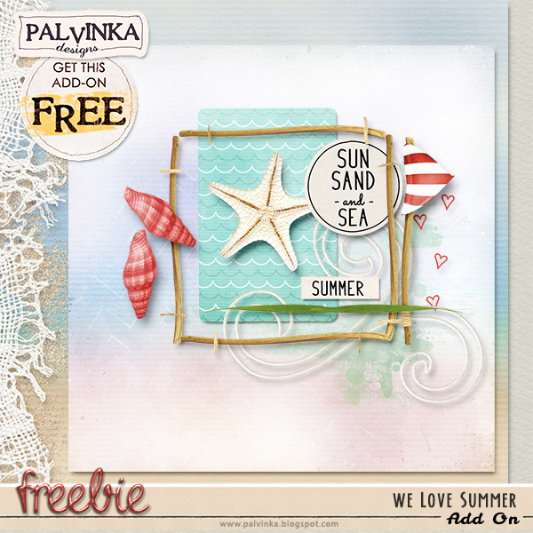 """Collection """"We Love Summer"""" and Freebie + Oldies but Goodies SALE"""