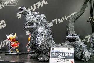 Todas las figuras mostradas en la Tokyo Comic Con 2019.