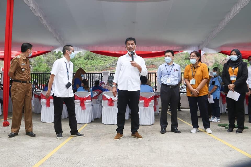 Ratusan Karyawan PT Volex Indonesia di Kawasan Industri Sekupang Melakukan Vaksinasi Covid-19