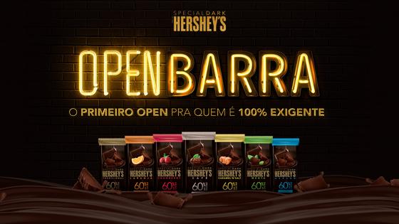 Grátis: Hershey's Open Barra