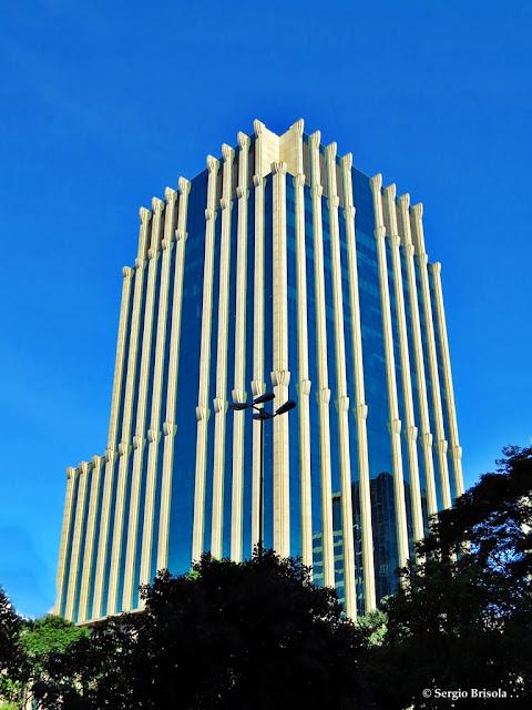 Fachada do Edifício FLFC - Faria Lima Financial Center - São Paulo
