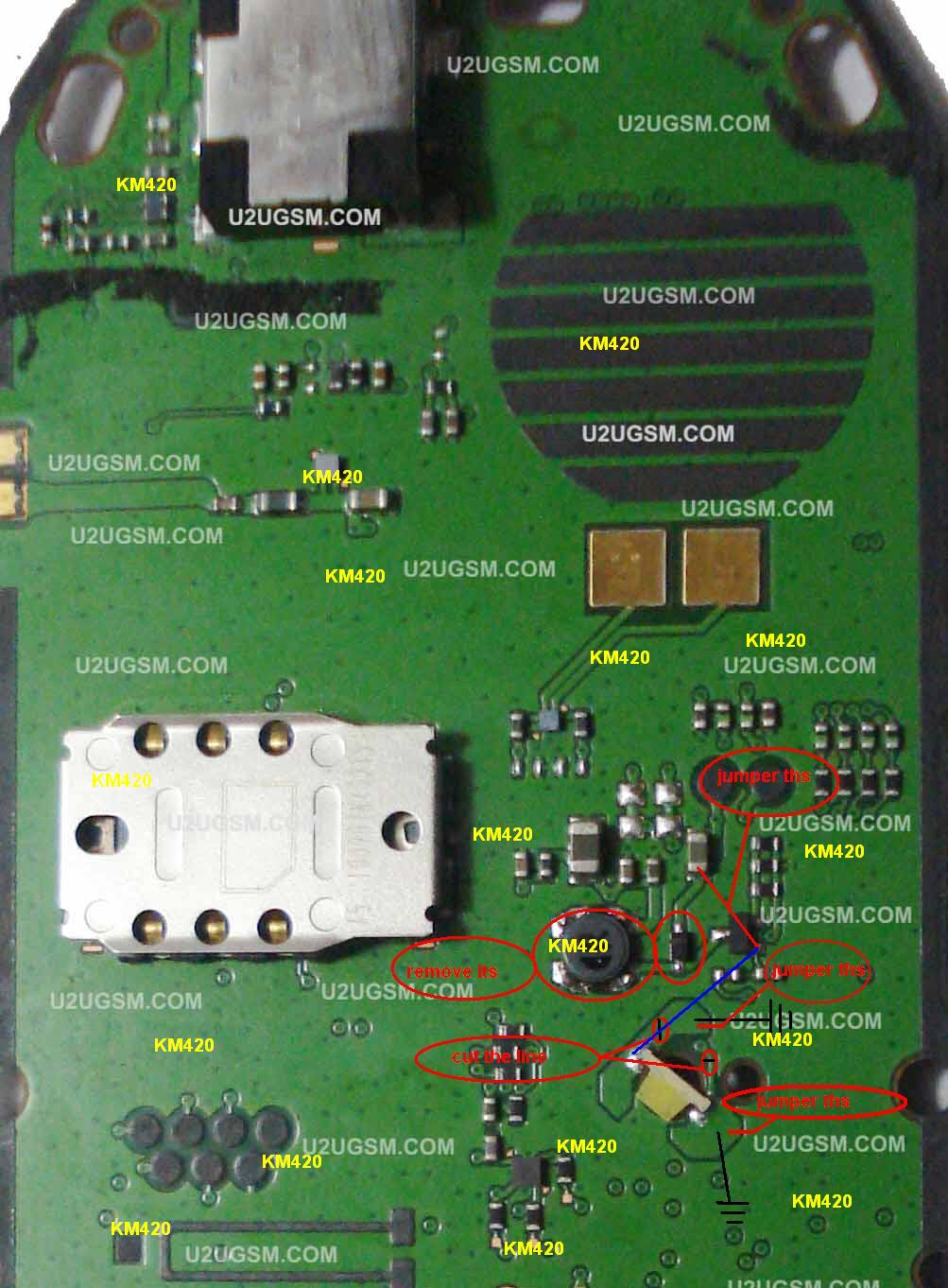 Hardware Solutions March 2012 Line Sim Bb9800 Short Circuit For Repair Gsmforum Nokia 1280 Light Solution 100 Test Me
