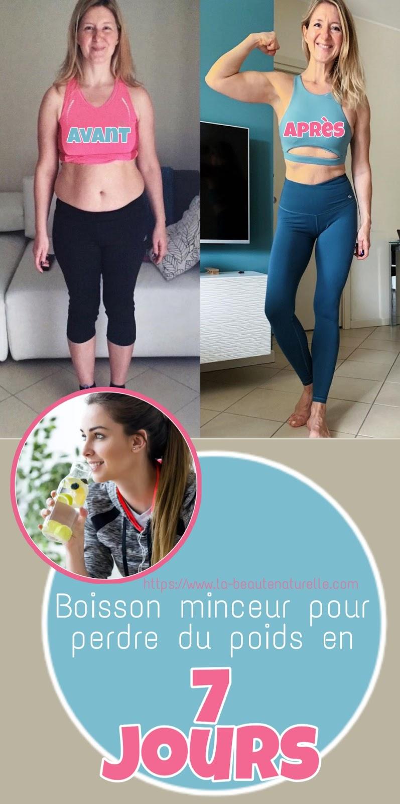 Boisson minceur pour perdre du poids en 7 jours