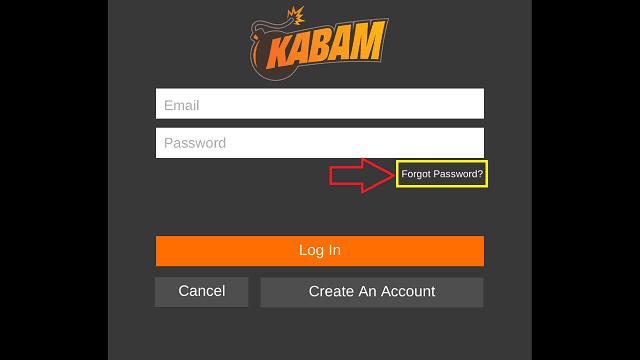MCOC - KABAM - Forgot Password