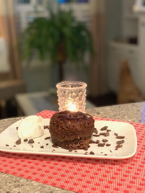 Chocolate Nutella Mug Cake for Two