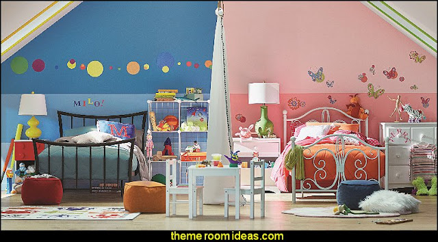 shared bedrooms ideas - decorating shared bedrooms - siblings sharing bedroom
