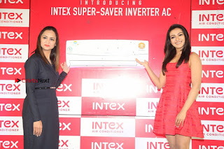 Actress Catherine Tresa Unveils Intex Air Conditioners  0321.jpg