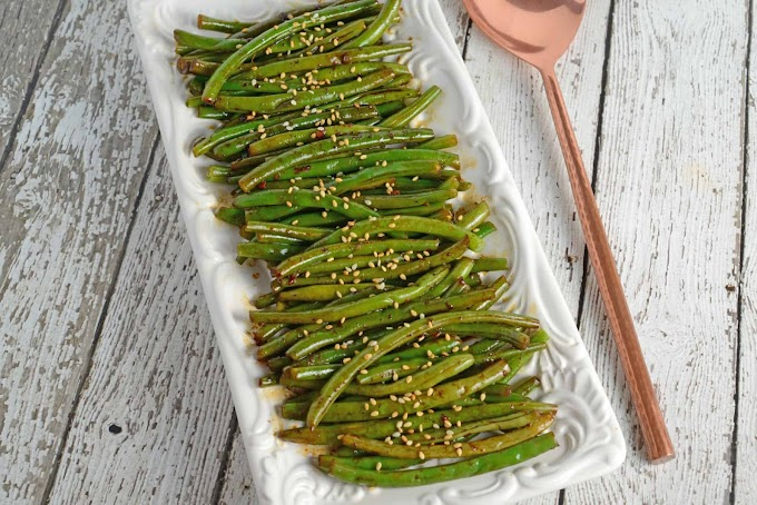 Copycat PF Chang's Spicy Green Beans #dinnerrecipe #food #amazingrecipe #easyrecipe