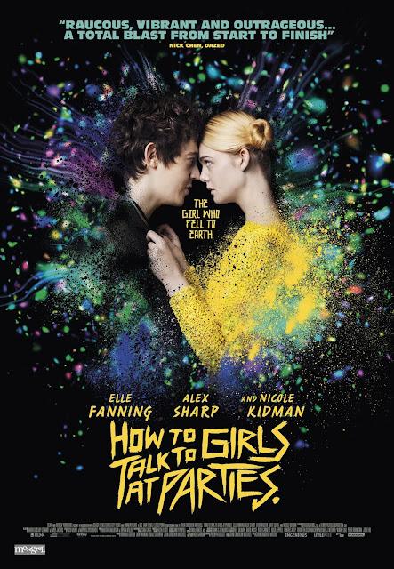 Póster Cómo enamorar a una chica punk películas ciencia ficción románticas