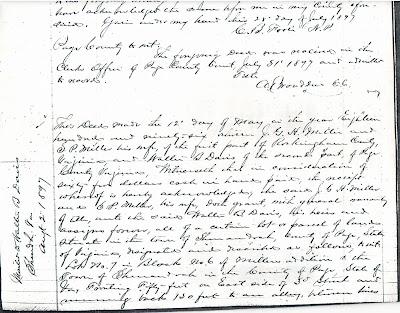 Walter Davis deed 1896 https://jollettetc.blogspot.com