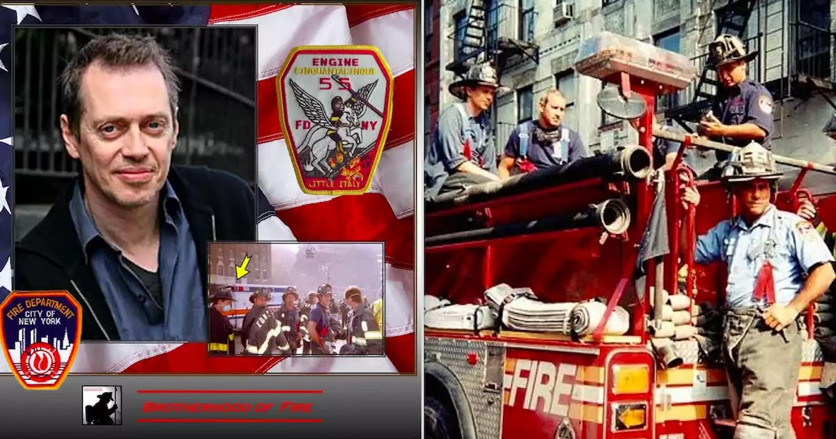 9/11: Celebrating Steve Buscemi's Work As A Fire Fighter At Ground Zero