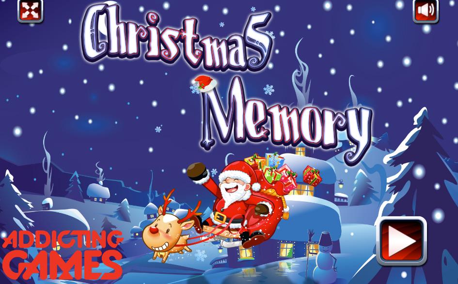 Jogue Christmas Memory, um puzzle games para se divertir na webtvplay