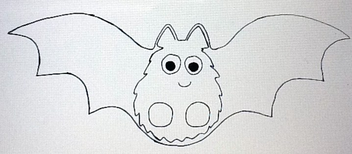 bat puppet printable template from becca s home to yours with october 2011 3426
