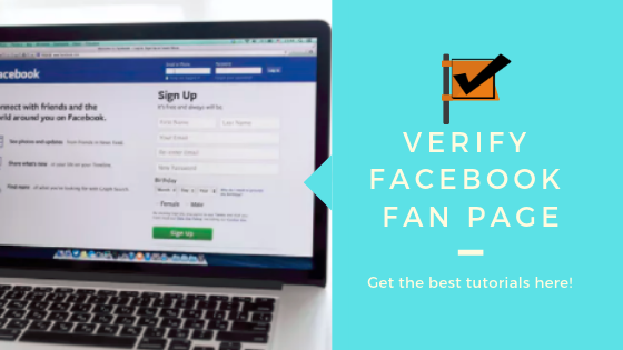 Verify Your Facebook Fan Page<br/>