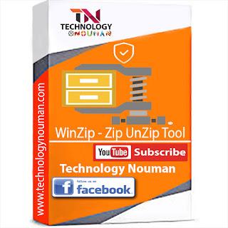 WinZip-Zip UnZip Tool, WinZip-Zip UnZip logo,