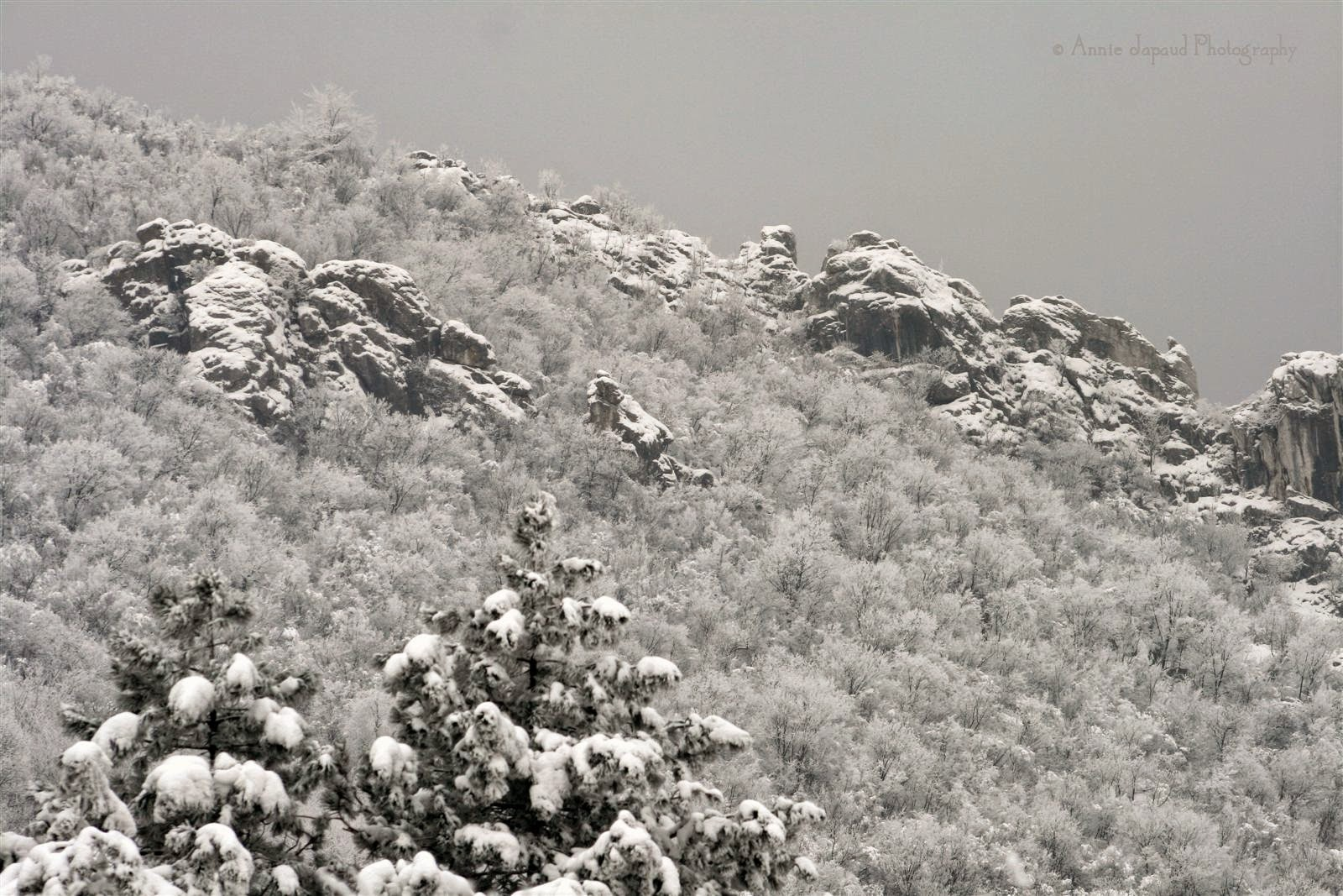 mountains, snow, Vratsa, Bulgaria