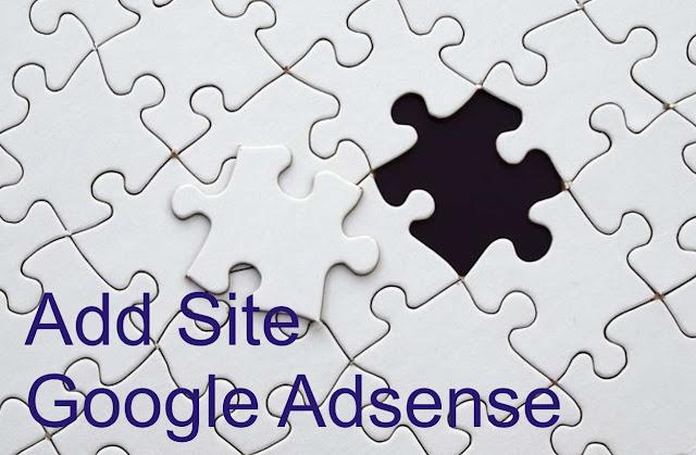 Add Site Google Adsense
