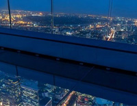 Skywalk on Bangkok's Tallest Building