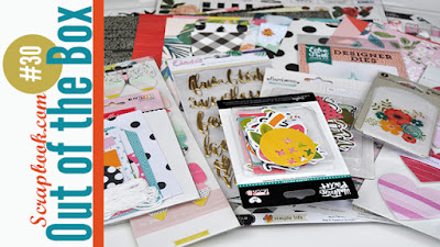 Out of the Box #30: Scrapbooking Haul with video from www.jengallacher.com #scrapbooking #haulvideo