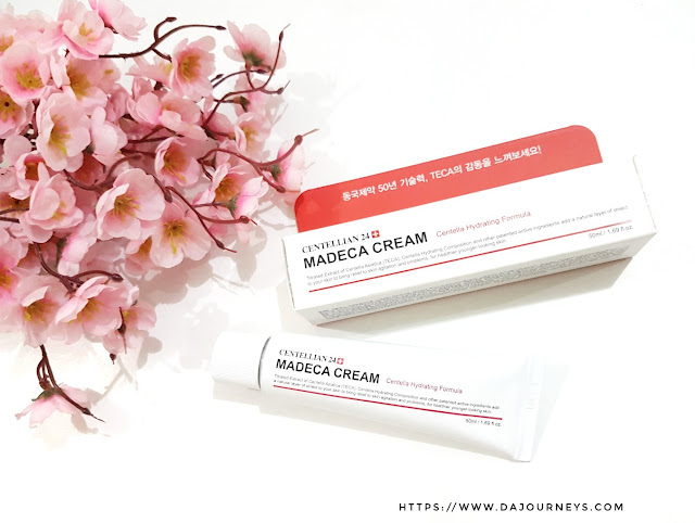 Review Centellian 24 Madeca Derma Cream