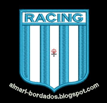 ESCUDO RACING PARA BORDAR
