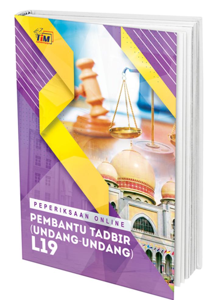 Rujukan KHAS Pembantu Tadbir (Undang-Undang) L19 & Pembantu Syariah Gred LS19