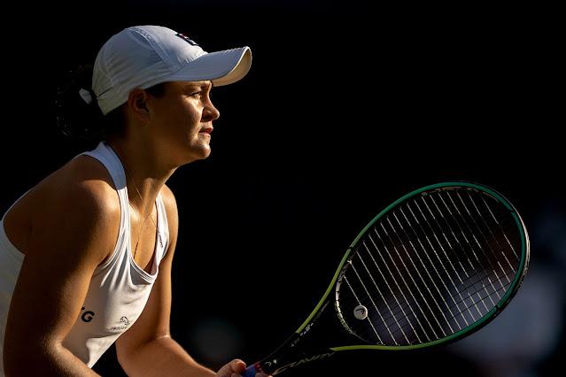 Ashleigh Barty chega pela segunda vez seguida a fase de oitavas de final em Wimbledon