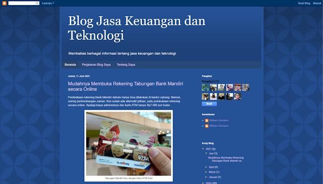 blog jasa keuangan dan teknologi