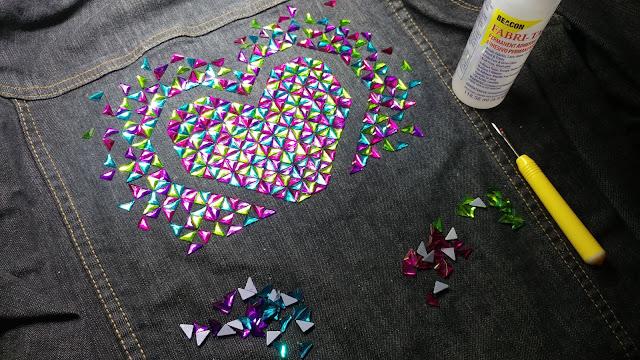 Using Fabri-Tac glue on denim